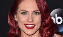 Sharna Burgess during the Season 23 finale of ABC's 'Dancing With The Stars'  on Nov. 22, 2016 in Los Angeles, California.