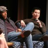 Russell Hornsby and Reggie Lee of