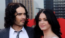 Russell Brand and Katy Perry during their time together, attending the European Premiere of Arthur at Cineworld 02 on April 19, 2011 in London, England.