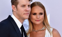 Anderson East and girlfriend Miranda Lambert attend the 52nd Academy Of Country Music Awards at Toshiba Plaza on April 2, 2017 in Las Vegas, Nevada.