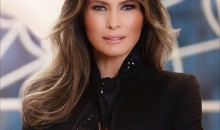 Melania Trump's First Lady Glamorous First Official Portrait: Black Jacket And Finger Ring Speaks A Lot