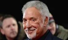Tom Jones attends the National Television Awards on Jan. 25, 2017 in London..