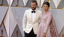 Jamie Dornan and Amelia Warner at Oscars 2017 Red Carpet