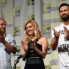 Travis Fimmel, Katheryn Winnick and Clive Standen of