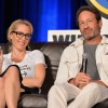 Gillian Anderson and David Duchovny of