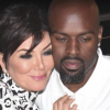 Kris Jenner & Corey Gamble Share A Passionate KISS At Haute Living Event