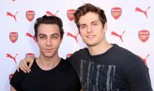 Luke Brandon Field and Daniel Sharman