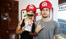Tyler Posey and Dylan O'Brien of