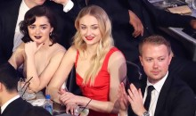 Maisie Williams and Sophie Turner of