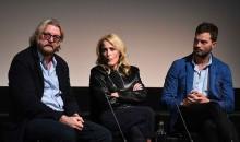 Allan Cubitt, Gillian Anderson and Jamie Dornan