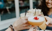 Young Women with Cocktails (IMAGE)