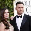 Brian Austin Green and wife, Megan Fox, at the 70th annual Golden Globe Awards in January 2013