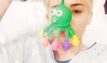 Miley Cyrus in the hospital