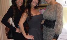 Amber Marchese with Nicole Mauriello and Teresa Aprea