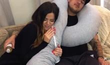 Khloe and Rob Kardashian