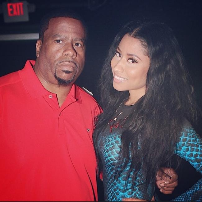 Nicki Minaj and DJ Cosmic Kev