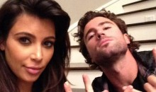 Kim Kardashian and Brody Jenner