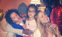 Nick Cannon, Mariah Carey and their 3-year-old twins