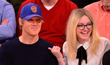 Dakota Fanning Shows Off the Source of Her Genes at the New York Knicks Game