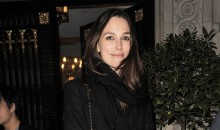 Keira Knightley is a Glowing Mother-To-Be