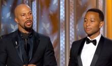 Common and John Legend acceptance speech at 2015 Golden Globes (NBC)