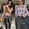 Kendall Jenner and Scott Disick out shopping