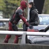 Face to face: Deadpool got face to face with Brianna Hildebrand